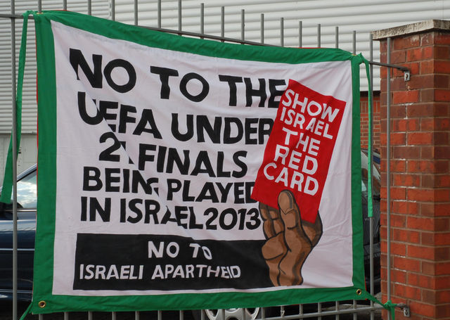 Show Israel the red card