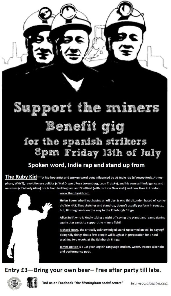 Flyersupporttheminers