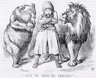 A 19th Century Cartoon About Afghan Invasion