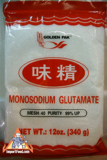 Glutamate In Chinese Food