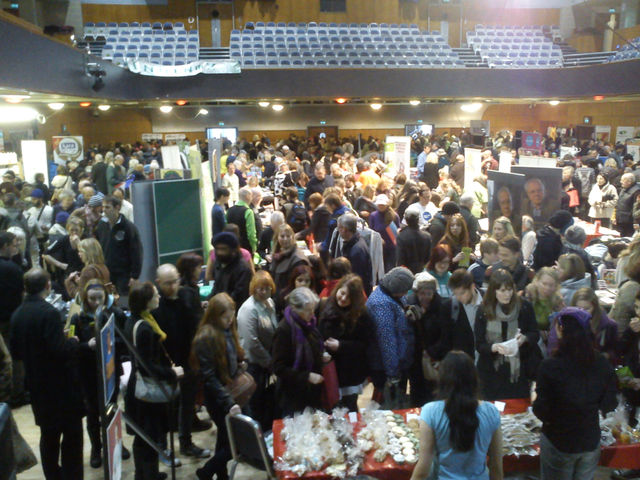 2,000 people attended the WMVF 2012, half of them non-vegans!