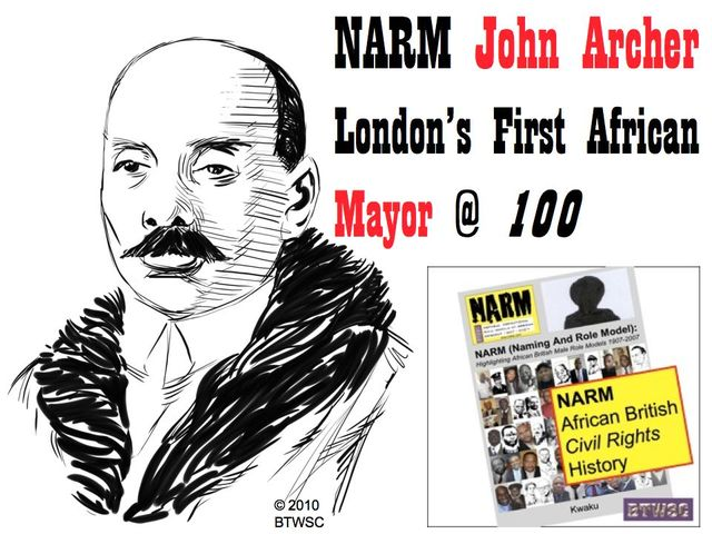 NARM John Archer And Black Politics