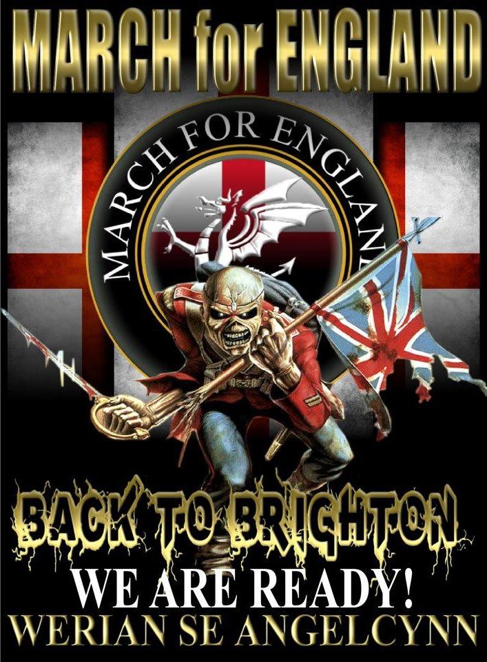 "UK Indymedia | Nazi ""Infidels"" to march on Brighton, 21st April 2013"