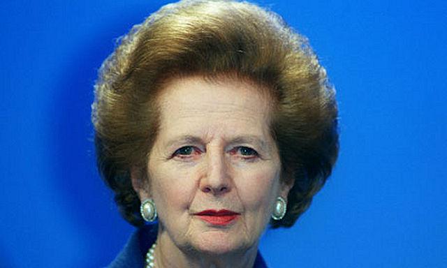 Thatcher, not Wicked Witch of the West!