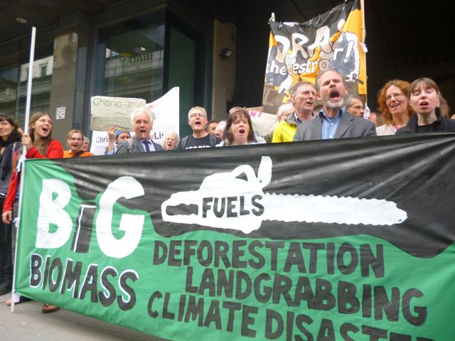 Drax AGM protest