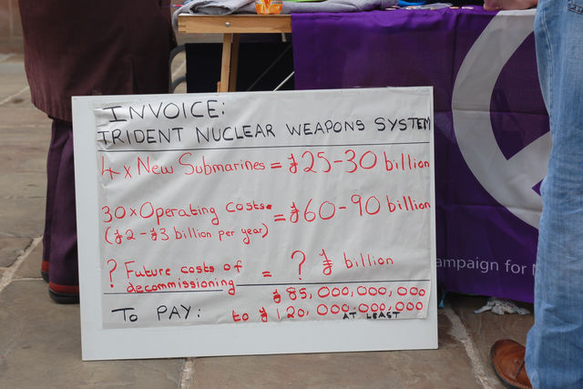 nuclear weapons invoice