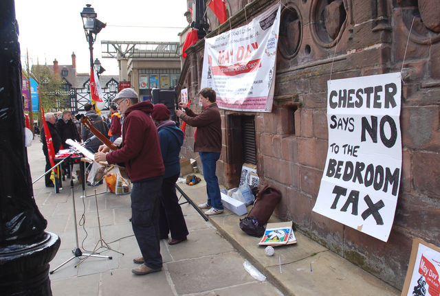 no to the bedroom tax