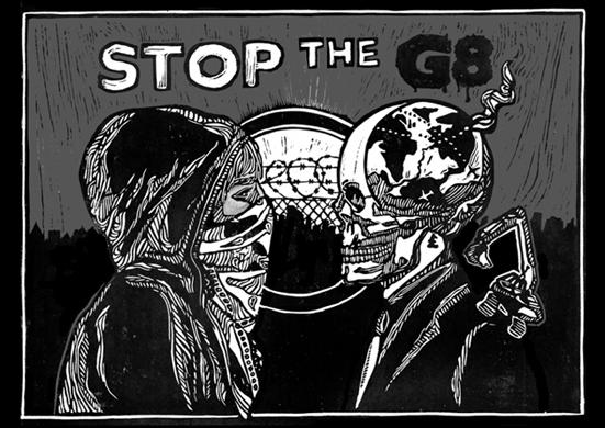 Risultati immagini per anticapitalista G8