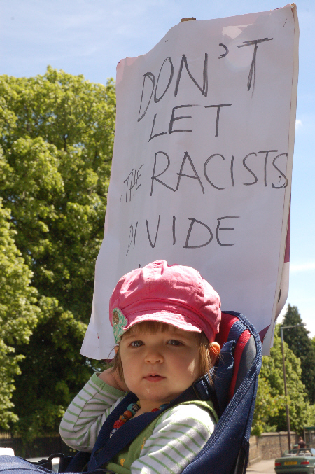 don't let the racists divide us (1)