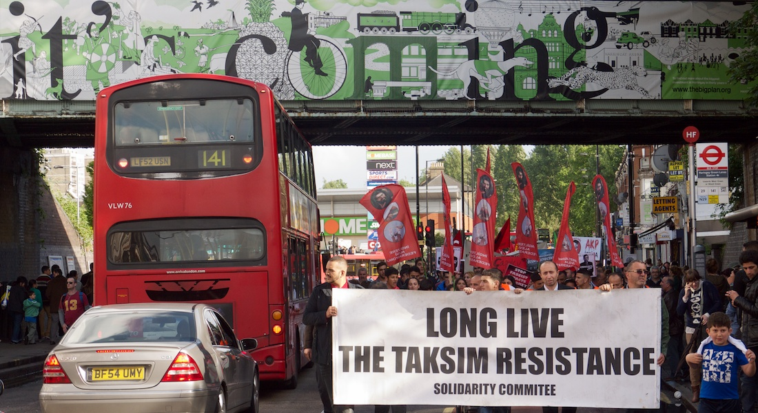 Haringey Solidarity with Taksim Square