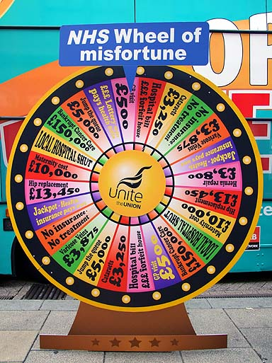 The Wheel of Misfortune!