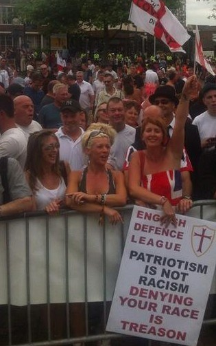 More vague, nationalist nonsense from the EDL