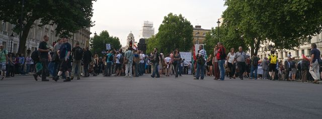 whitehall blockade