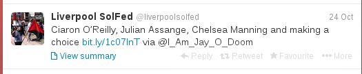 Tweet from @LiverpoolSolFed