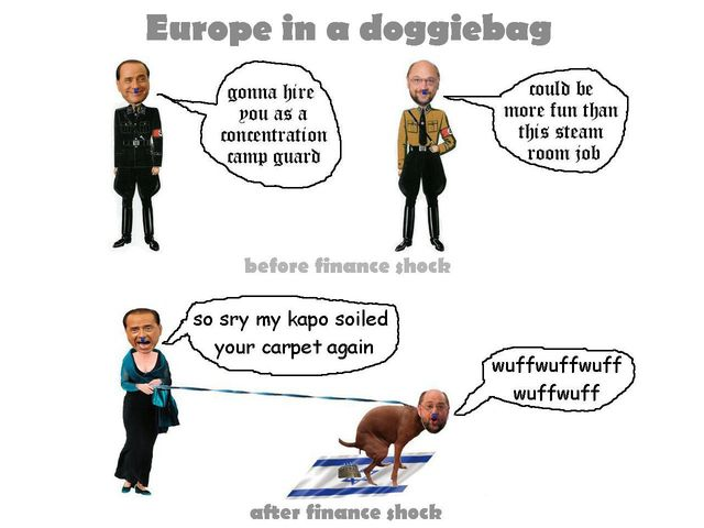 Europe in a doggiebag