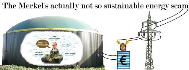 The Merkel´s Actually Not So Sustainable Energy Scam
