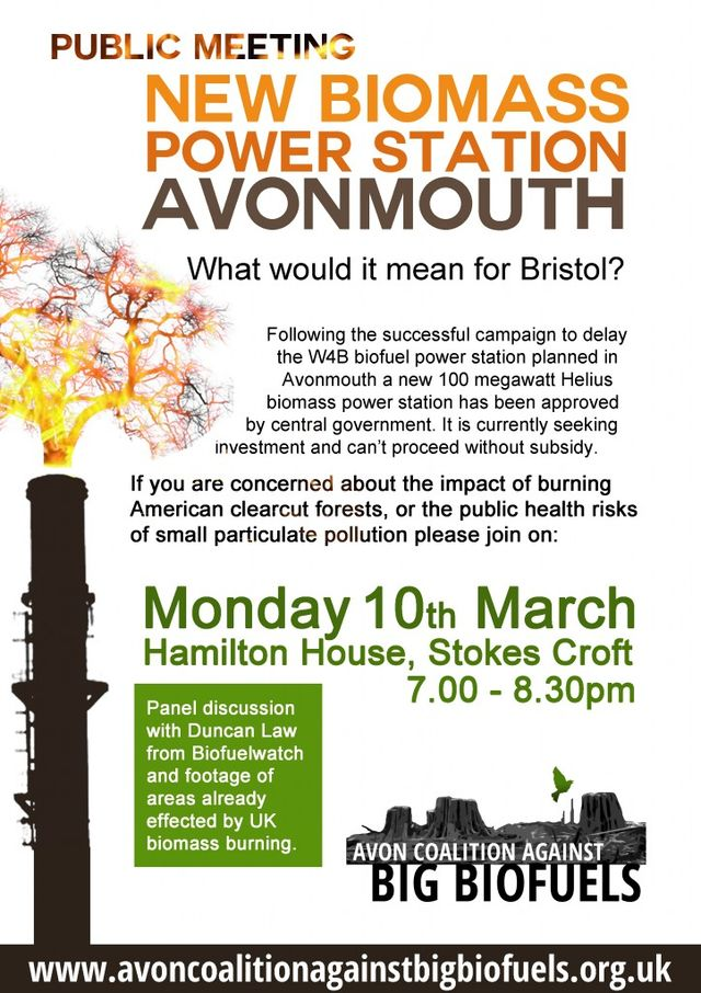Public Meetings In Bristol Amp Avonmouth About New Biomass