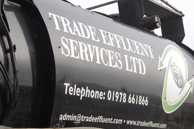 Trade Effluent Services truck