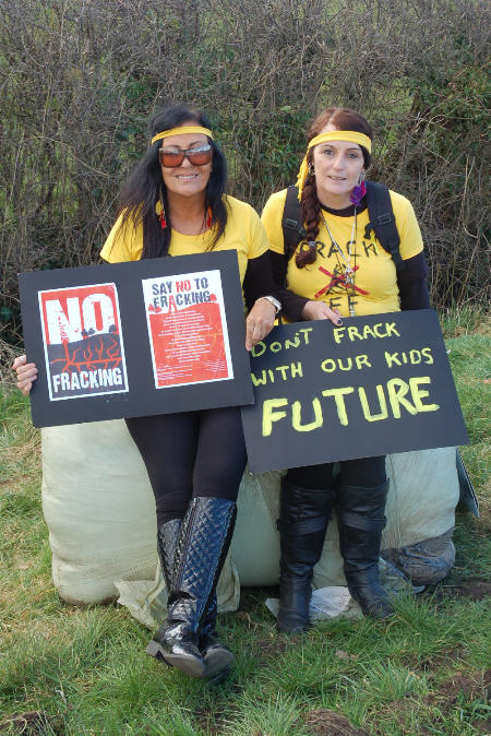 don't frack with us