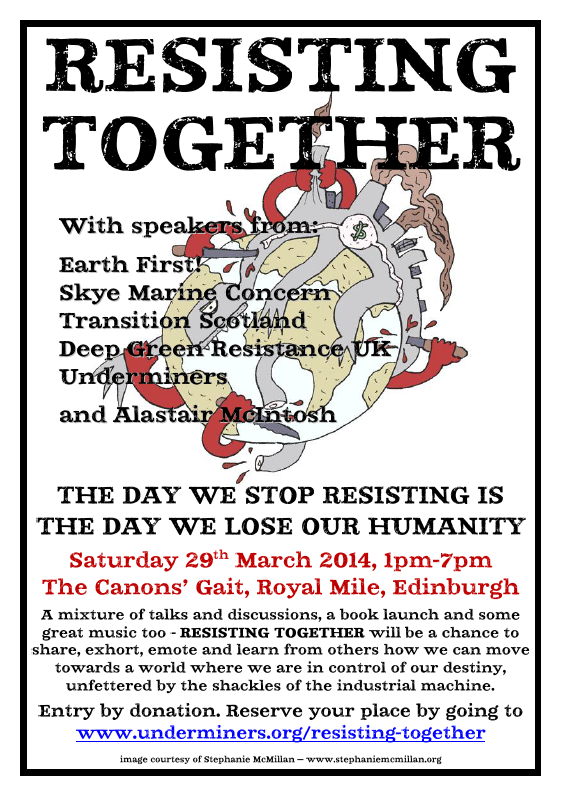 Resisting Together Poster