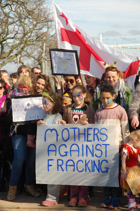 Mothers and others against fracking