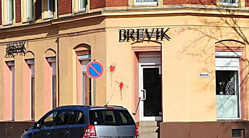 "Thor Steinar ""Brevik"" tribute store in Germany"