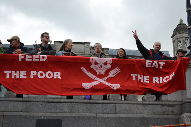 a march day in london Thousands of marxists, communists, anarchists and trade unionists were addressed by labour party leader jeremy corbyn at an international workers' day march in london today.