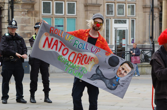 Roll up Roll Up, the NATO Circus is coming to town