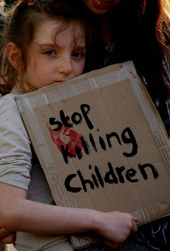 Stop Killing Children.