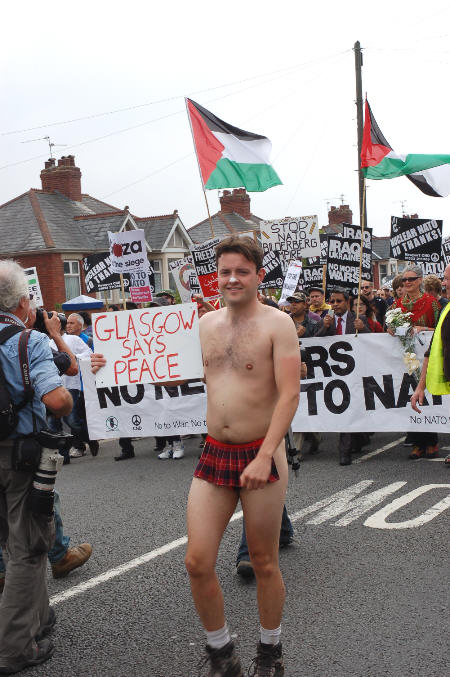 Stripping off for Scottish Independence