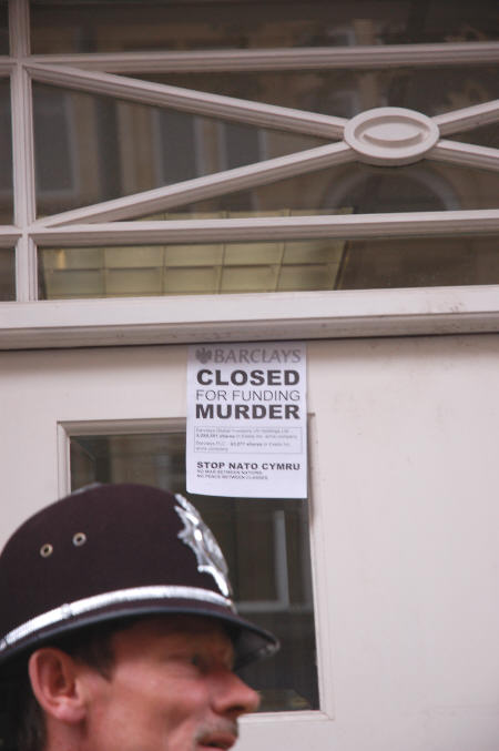 Barclays closed for funding murder