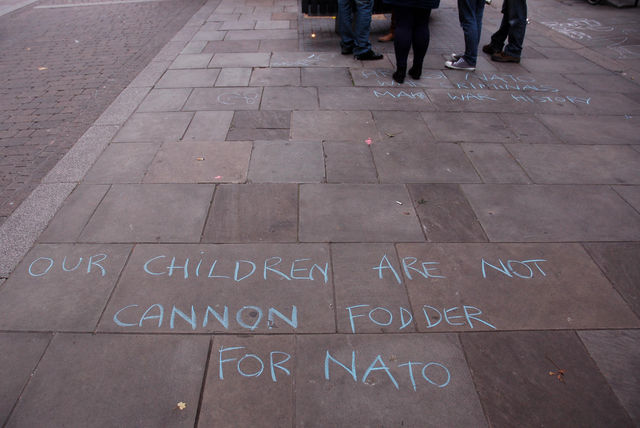 Our children are not cannon fodder