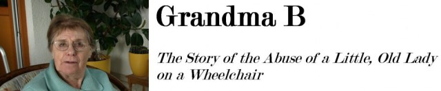 WHEELCHAIR BOUND GRANDMA B
