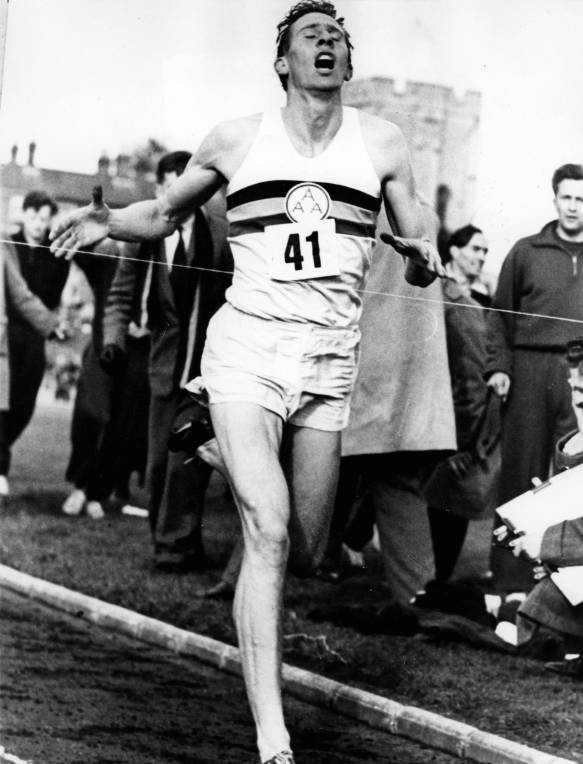 Roger Bannister 1st To Break 4 Minute Mile