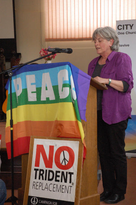 Hilary Evans from Kingston Peace Council