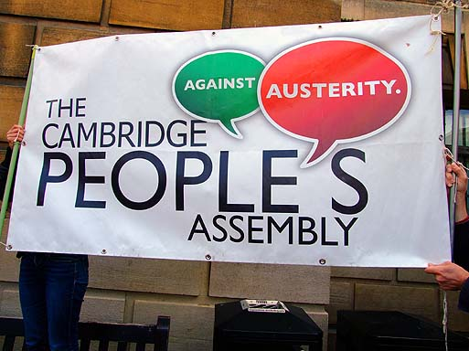 Peoples' Assembly, who initially called the demo.