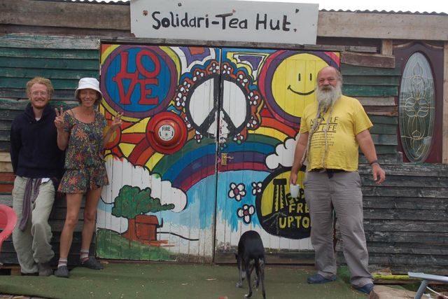 The new Solidari-Tea hut