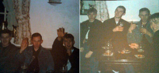 1993 - Neo Nazis from Newcastle (Coloon Holmes -left of second photo)