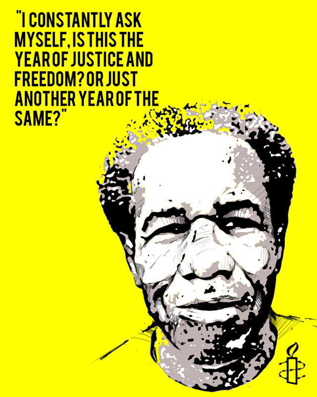 "Amnesty International says ""Free Albert Woodfox!"""