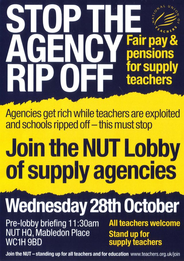 Stop The Agency Rip Off Flyer Design.