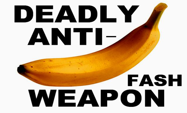 Nazis Go Bananas for Bananas and other messy foods. Give them their Five-A-Day!
