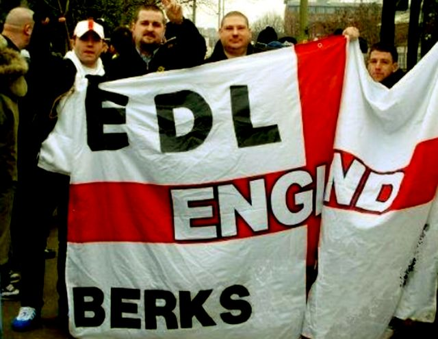 "This picture says it all, really ""EDL Berks"""