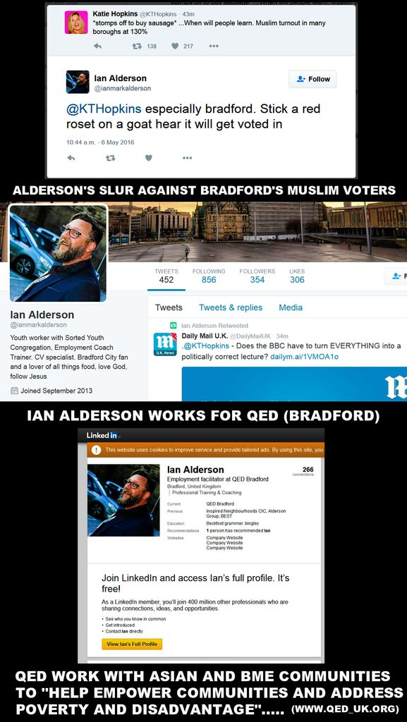 Alderson - Racist BNP Employment Advisor