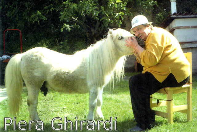 "Piera Ghirardi, ""Guardian Angel"" of animals."