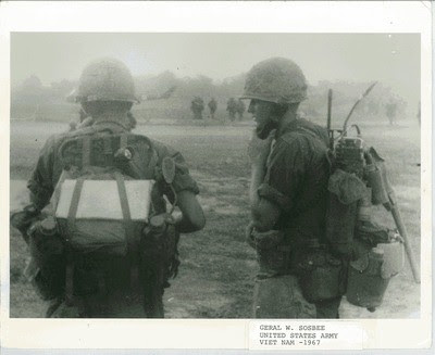 Geral Sosbee , US Army (right side of photo)